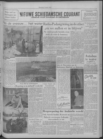 Nieuwe Schiedamsche Courant 1958-03-01