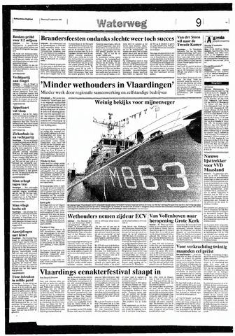 Rotterdamsch Nieuwsblad / Schiedamsche Courant / Rotterdams Dagblad / Waterweg / Algemeen Dagblad 1993-09-27