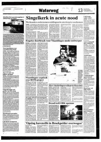 Rotterdamsch Nieuwsblad / Schiedamsche Courant / Rotterdams Dagblad / Waterweg / Algemeen Dagblad 1993-01-13
