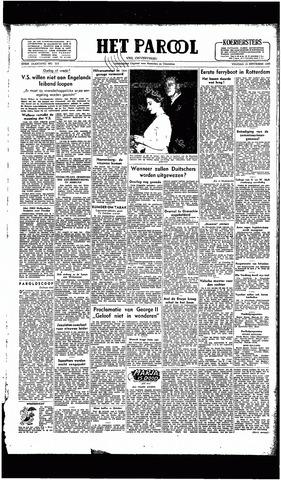Rotterdamsch Parool / De Schiedammer 1946-09-13