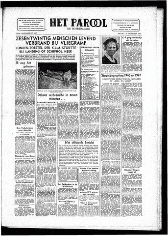 Rotterdamsch Parool / De Schiedammer 1946-11-15