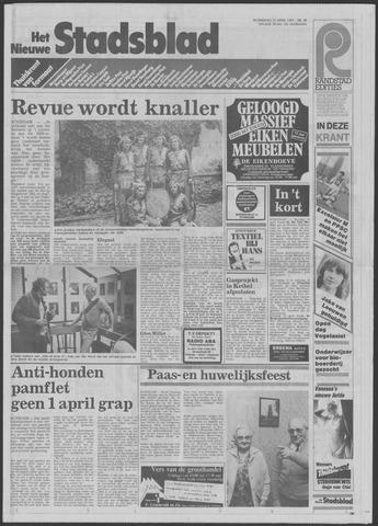 Het Nieuwe Stadsblad 1985-04-10