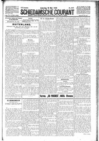 Schiedamsche Courant 1929-05-18