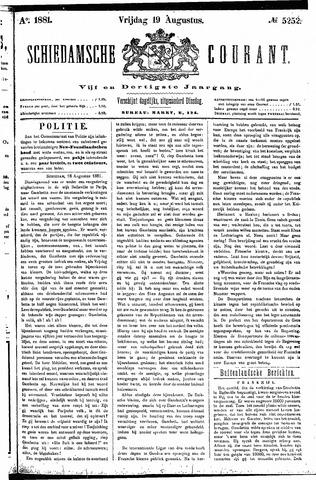 Schiedamsche Courant 1881-08-19