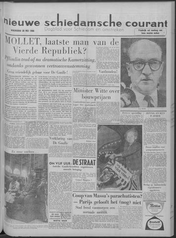 Nieuwe Schiedamsche Courant 1958-05-28
