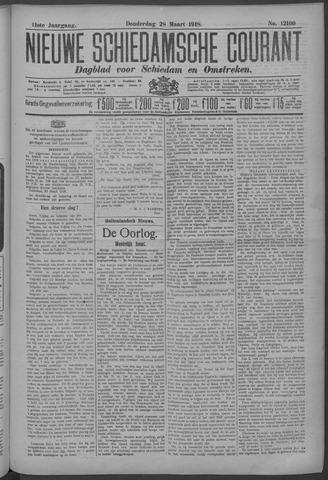 Nieuwe Schiedamsche Courant 1918-03-28