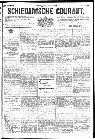 Schiedamsche Courant 1910-02-05