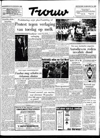 Trouw / De Rotterdammer 1958-08-28