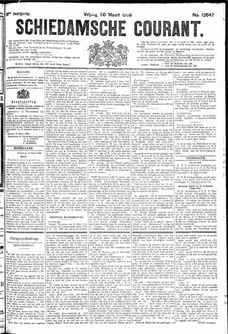 Schiedamsche Courant 1908-03-20