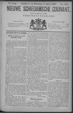 Nieuwe Schiedamsche Courant 1886-04-12