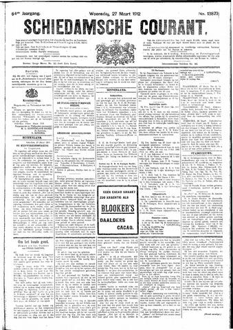 Schiedamsche Courant 1912-03-27