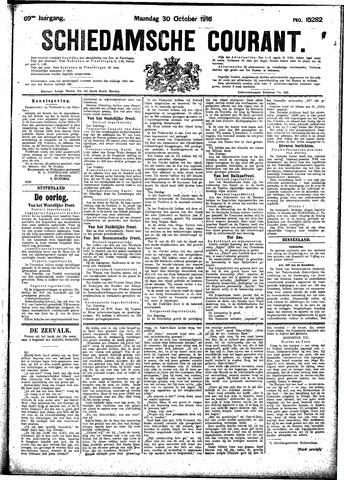 Schiedamsche Courant 1916-10-30