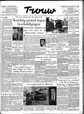 Trouw / De Rotterdammer 1955-01-21