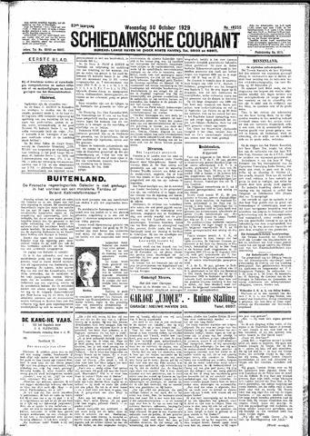 Schiedamsche Courant 1929-10-30