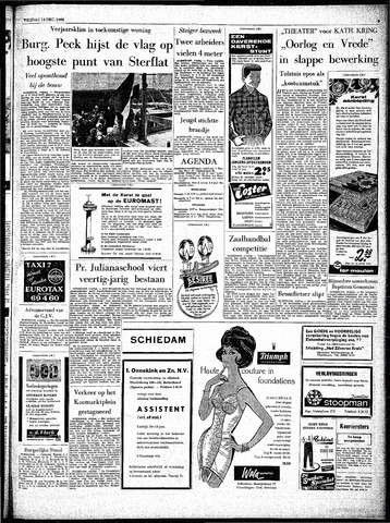 Rotterdamsch Parool / De Schiedammer 1962-12-14