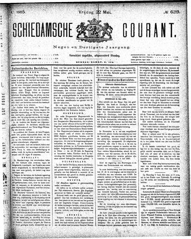 Schiedamsche Courant 1885-05-22