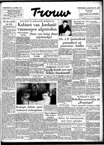 Trouw / De Rotterdammer 1957-04-25