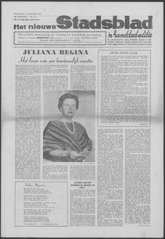 Het Nieuwe Stadsblad 1962-09-12