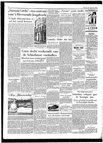 Rotterdamsch Parool / De Schiedammer 1955-09-19