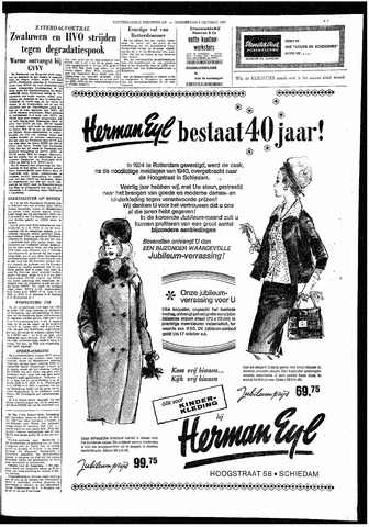Rotterdamsch Nieuwsblad / Schiedamsche Courant / Rotterdams Dagblad / Waterweg / Algemeen Dagblad 1964-10-08