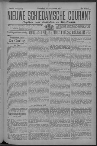 Nieuwe Schiedamsche Courant 1917-08-20