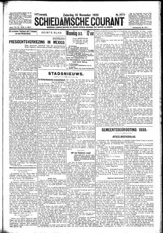 Schiedamsche Courant 1929-11-16