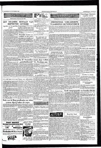 Rotterdamsch Nieuwsblad / Schiedamsche Courant / Rotterdams Dagblad / Waterweg / Algemeen Dagblad 1953-11-12