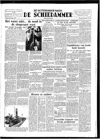 Rotterdamsch Parool / De Schiedammer 1947-10-24
