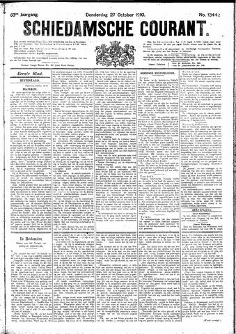 Schiedamsche Courant 1910-10-27
