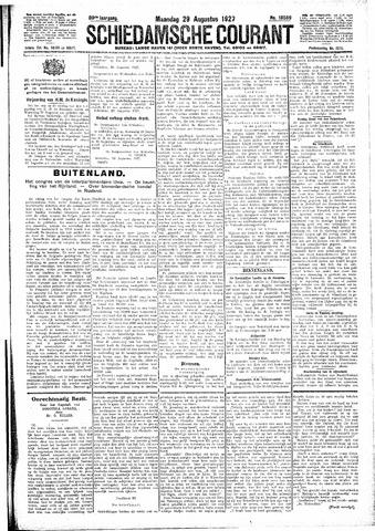 Schiedamsche Courant 1927-08-29