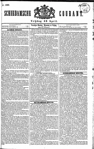 Schiedamsche Courant 1866-04-13
