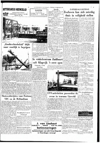 Rotterdamsch Nieuwsblad / Schiedamsche Courant / Rotterdams Dagblad / Waterweg / Algemeen Dagblad 1965-02-26