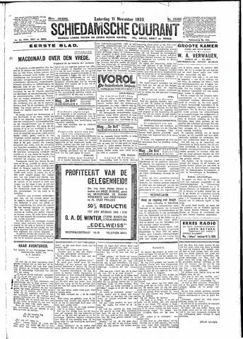 Schiedamsche Courant 1933-11-11