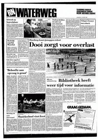 Rotterdamsch Nieuwsblad / Schiedamsche Courant / Rotterdams Dagblad / Waterweg / Algemeen Dagblad 1985-01-14