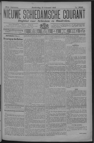 Nieuwe Schiedamsche Courant 1913-02-13