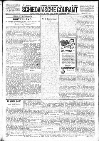 Schiedamsche Courant 1927-11-26