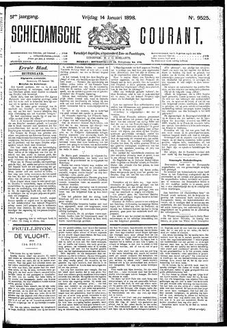 Schiedamsche Courant 1898-01-14