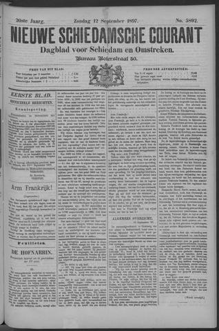 Nieuwe Schiedamsche Courant 1897-09-12