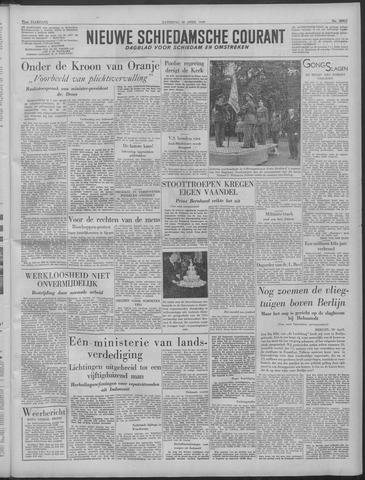 Nieuwe Schiedamsche Courant 1949-04-30
