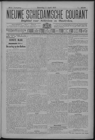Nieuwe Schiedamsche Courant 1913-04-05