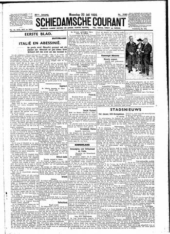 Schiedamsche Courant 1935-07-22