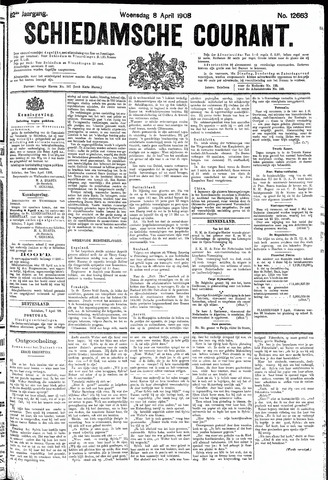 Schiedamsche Courant 1908-04-08