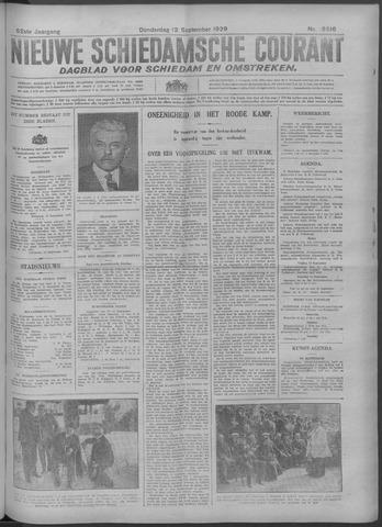 Nieuwe Schiedamsche Courant 1929-09-12