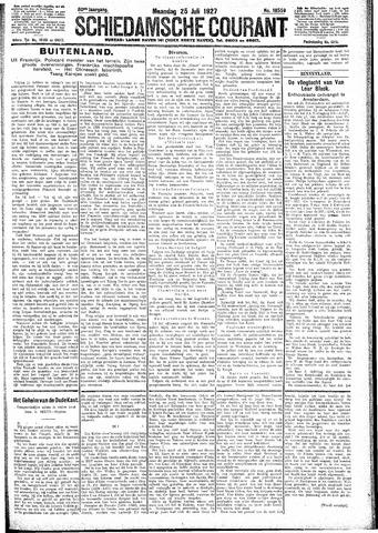 Schiedamsche Courant 1927-07-25