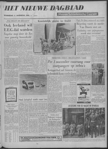 Nieuwe Schiedamsche Courant 1961-08-02