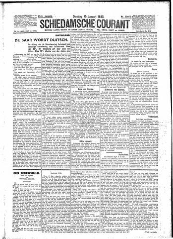 Schiedamsche Courant 1935-01-15