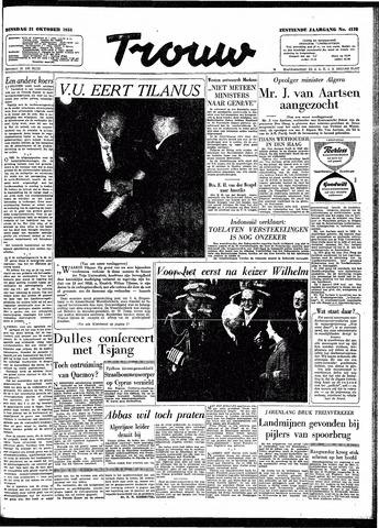 Trouw / De Rotterdammer 1958-10-21