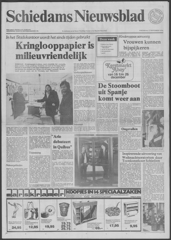 Schiedams Nieuwsblad 1978-11-22