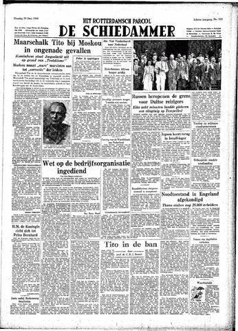 Rotterdamsch Parool / De Schiedammer 1948-06-29