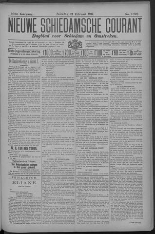 Nieuwe Schiedamsche Courant 1917-02-24